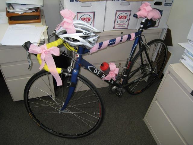 Victor's bike