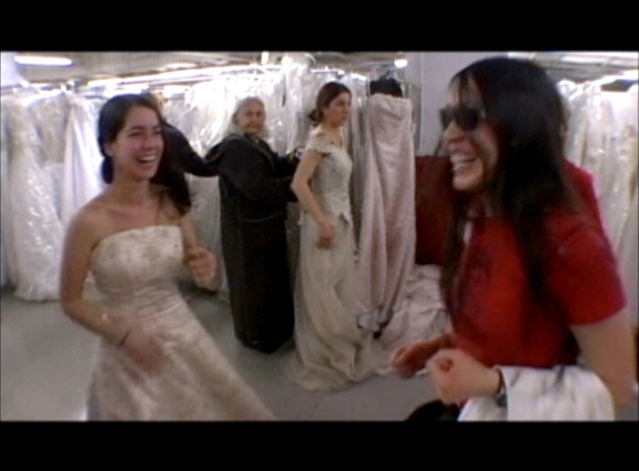 Running of the Brides - starring Mandie Fox, with Wendy Chao in a challenging supporting role