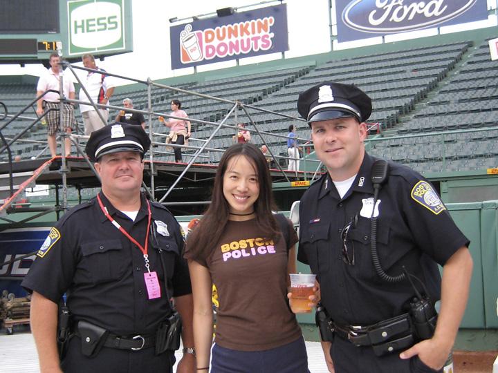 police fenway park